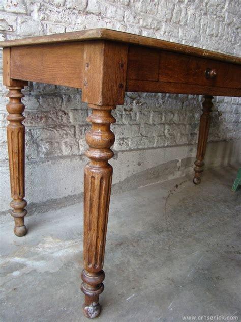table de cuisine ancienne en bois ancienne table de ferme en bois début xxe artsenick