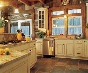 25 best ideas about log home kitchens on pinterest log With interior paint colors for log homes