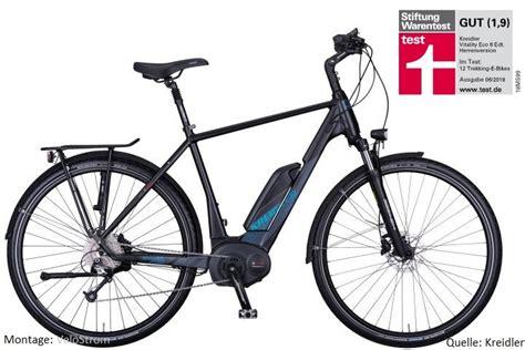 kreidler e bike test kreidler vitality eco 6 edition note 1 9 im e bike test der stiftung warentest velostrom
