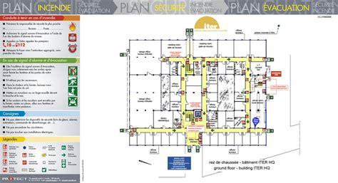 plan des bureaux plan d évacuation plan d intervention protect marseille