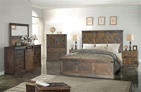farmhouse panel bedroom set barnwood  legends