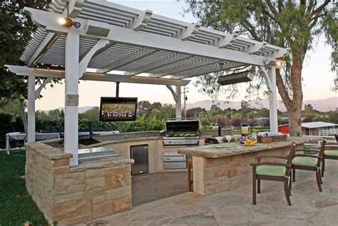 covered patio bar ideas covered cabana bar kitchen outdoor bracket for tv