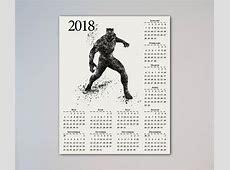 Black Panther 2018 Calendar Wallpapers CalendarBuzz