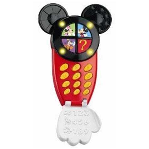 mickey mouse cell phone mickey mouse clubhouse mickey s silly cell phone