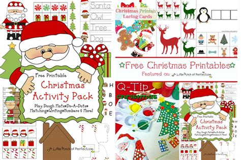 printable christmas party games pack download free printable pack learning printables for activities for
