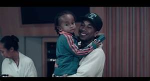 Tygas Son King Cairo Appears In His New I Smile I Cry