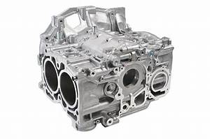 Subaru    Fhi 2 5l Turbo Short Block Engine Case Half Set