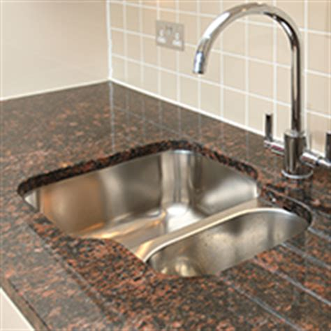 granite countertops kitchen sinks choosing the right