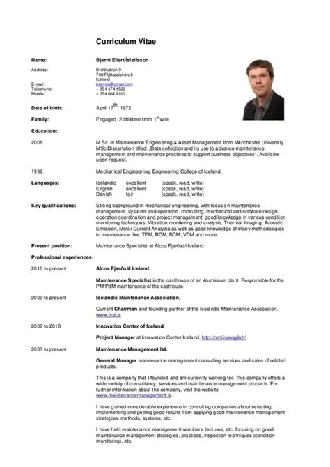 Cv Template by Can I One Page Cv Templates Quora