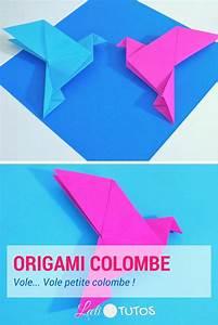 Comment Faire Un Oiseau En Papier : comment faire une colombe en origami tutoriel facile origami pliage ~ Melissatoandfro.com Idées de Décoration