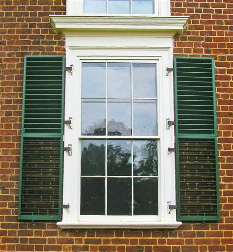 Window Shutter by All About Exterior Window Shutters Oldhouseguy