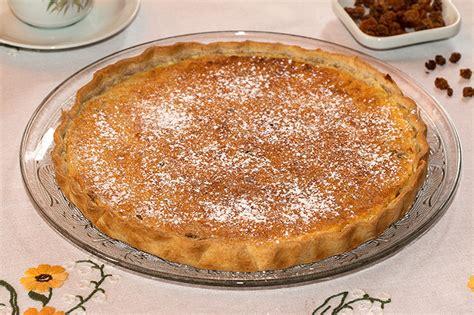 cuisine tahitienne recettes tarte à la semoule aux raisins secs