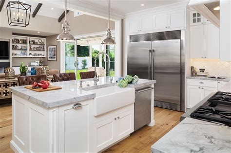 kitchen with cabinets arcadia family home traditional kitchen by 3493