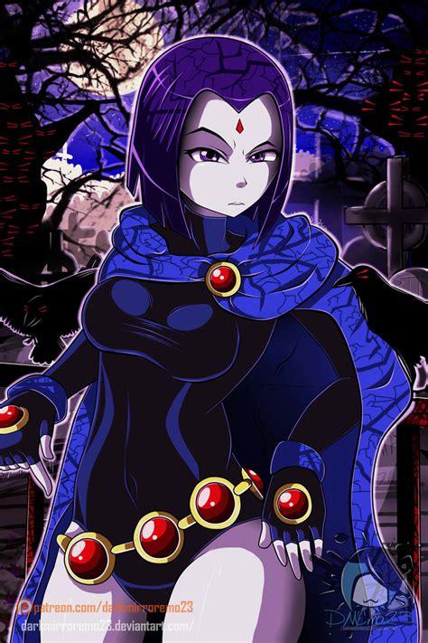 Teen Titans Raven By Darkmirroremo23 On Deviantart