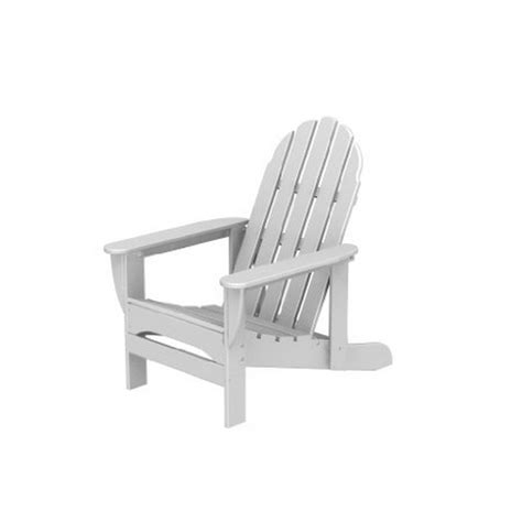 Polywood Adirondack Chair With Pull Out Ottoman by Polywood Recycled Plastic Big Adirondack Chair W