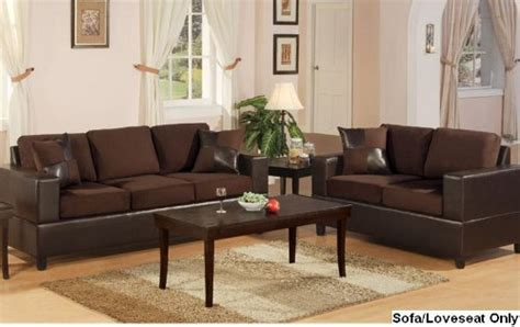 Sofas Seattle by Bobkona Seattle Microfiber Sofa And Loveseat 2 Set
