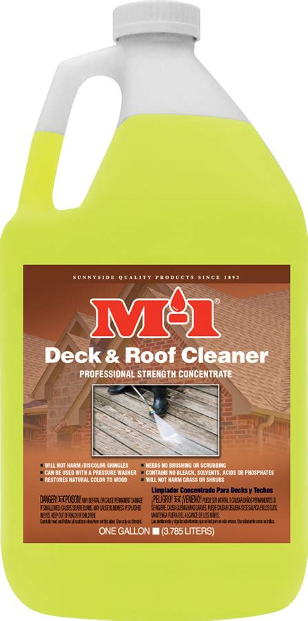 deck roof cleaner gallon