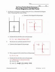 26 Newtons Second Law Of Motion Worksheet Answers Physics
