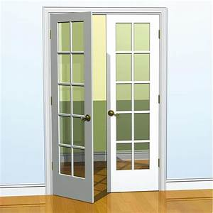 Easy Steps to Install Double French Doors Interior - Ward ...
