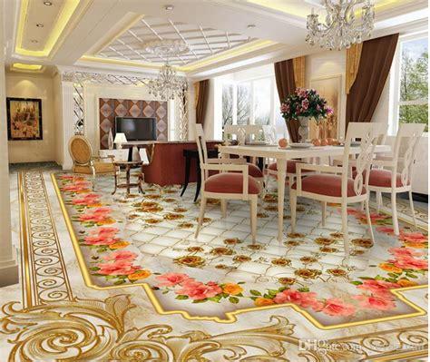 floor wallpaper luxury golden rose marble soft bag