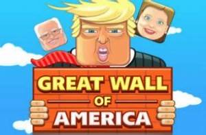 There's a Game About Building the Great Wall of Trump ...