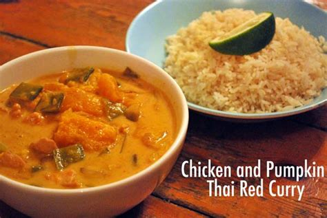 Thai Red Pumpkin Curry Recipe by Recipe Chicken And Pumpkin Thai Red Curry Rosalilium