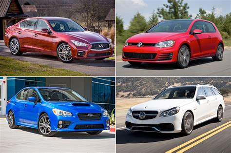 family car 15 performance cars that you can pitch as a family car