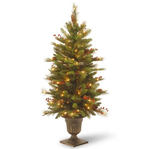 Artificial Pine Trees Decorative by National Tree Company 4 Ft Decorative Collection Long