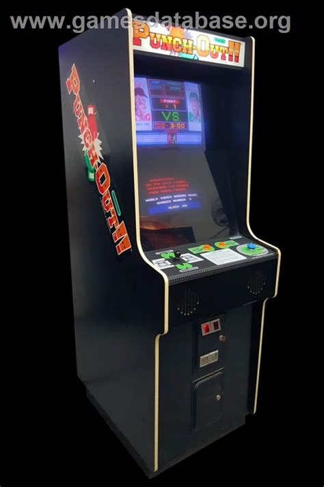 Punch Out Arcade Games Database