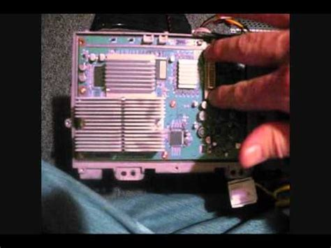 Wd 65733 Lamp Ballast by Replacing Dlp Chip On A Mitsubishi Dlp Tv For White Dots