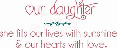 Quotes Daughter Nursery Sayings Quote Daughters Toddler