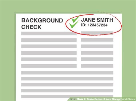 How Background Check How To Make Sense Of Your Background Check 15 Steps