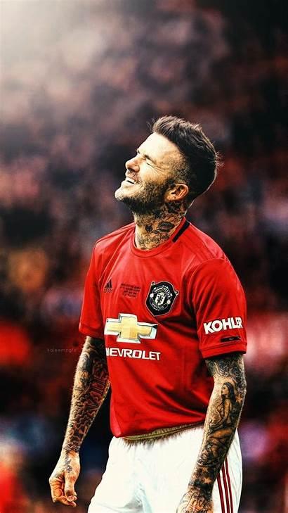 Beckham David Manchester United Wallpapers Legends Football