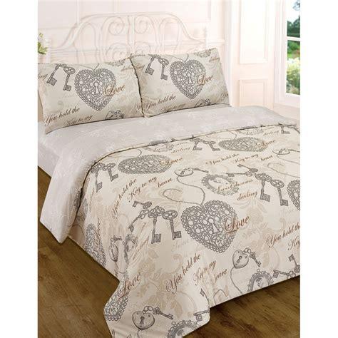 sweet dreams vintage complete duvet set king bedding bed set