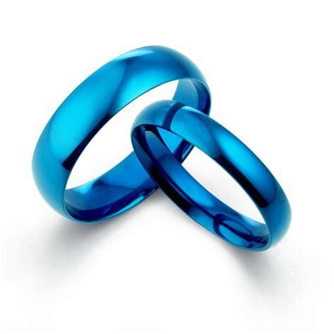personal blue anywords groom matching wedding titanium couple rings ebay