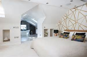 We The Open Plan Design Of This Bedroom And Bathroom by Open Plan Master Bedroom Loft Conversion Real Homes
