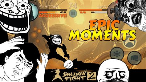 shadow fight 2 epic moments montage