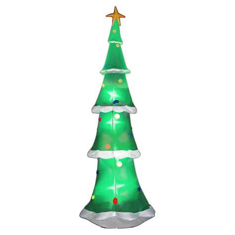 airblown sky high christmas tree