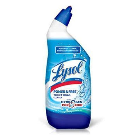 lysol power free bathroom cleaner lysol 174 power free toilet bowl cleaner