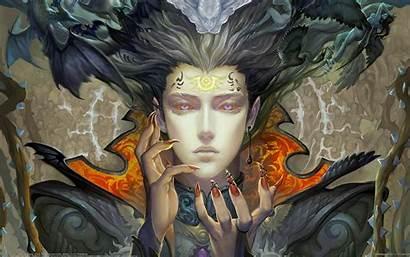 Demon Fantasy Evil Demons Dark Occult Angels