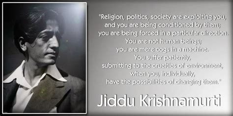 jiddu krishnamurti quotes quotesgram