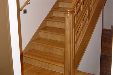 Solid wood steps North London Wood Flooring Company LUXURY