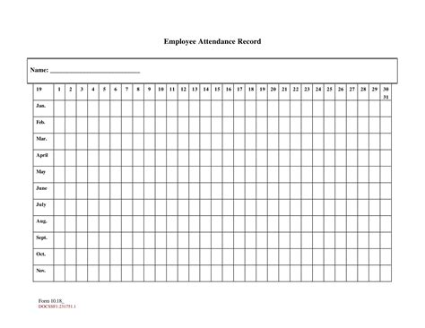 printable attendance sheet examples  word examples