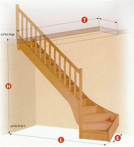 Escalier 1 4 Tournant Gauche : escalier 1 4 tournant ~ Dode.kayakingforconservation.com Idées de Décoration
