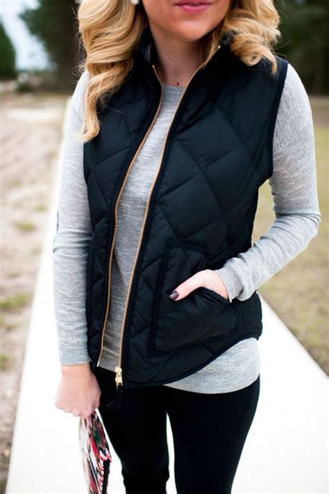 Quilted Vest Simple But Very Cute Fashion Vest