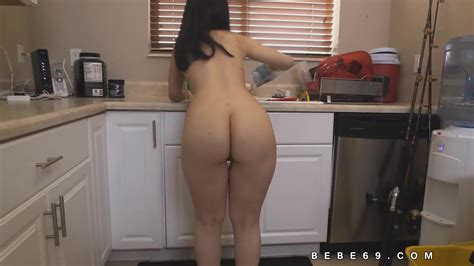 Latina Maid Naked Cleaning Leads To Sex Zb Porn