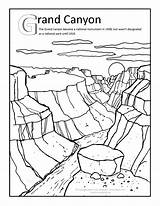Canyon Grand Coloring Clipart Arizona Pages Clip Sheets Trip Desert Adult Road Drawing Colouring Gila Ben Map Activities Hicks Illustrator sketch template
