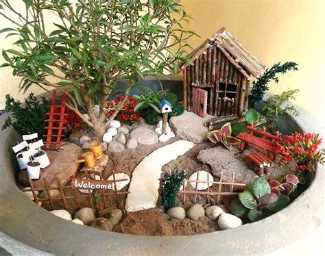 Garden Accessories by Diy Miniature Garden Accessories 15 Steps With Pictures