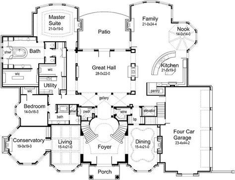 mansion house plans  sq ft floor plans   house plans house design luxury house