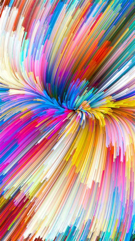 vy color rainbow digital art pattern background wallpaper